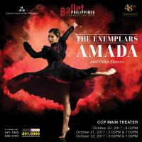 "Ballet Philippines' Internationally Acclaimed Classics Are Back In ""The Exemplars: Amada And Other Dances"" Taking The Stage On October 20 – 22"