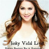 JINKY VIDAL AT HISTORIA BOUTIQUE BAR AND RESTAURANT