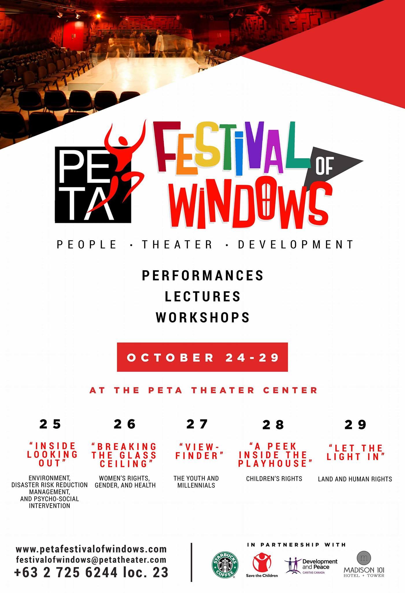 The PETA Festival Of Windows