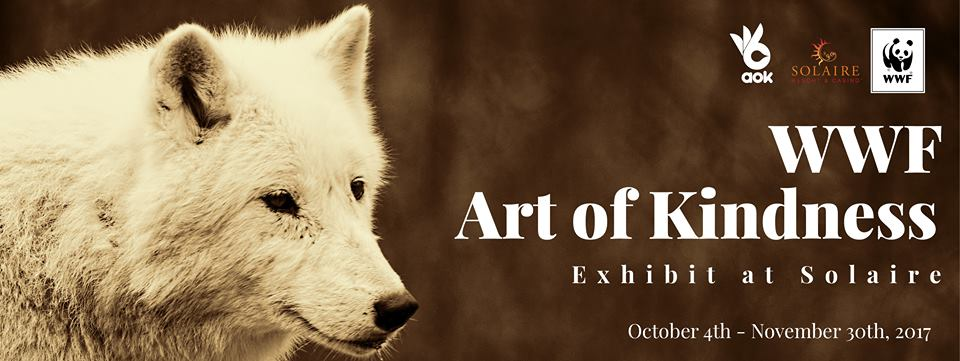 WWF Art of Kindness Exhibit