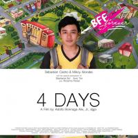 "Adolfo Alix Jr. LGBT Hit Film ""4 Days"" - Exclusive at Ayala Malls Cinemas Starting October 18"