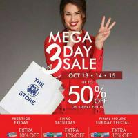 The SM Store Megamall 3-Day Sale