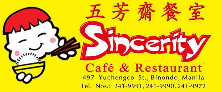 SINCERITY CAFE AND RESTAURANT