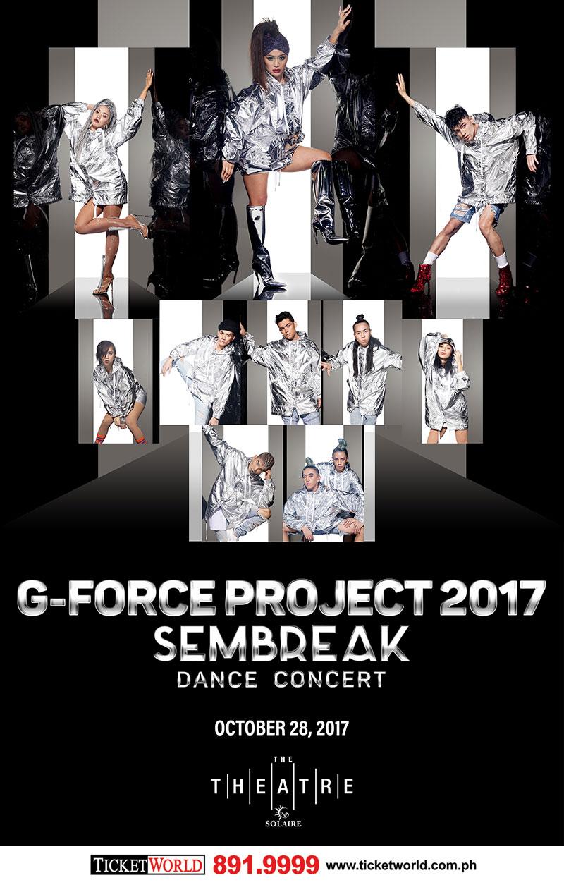 G-FORCE PROJECT 2017 SEMBREAK Dance Concert