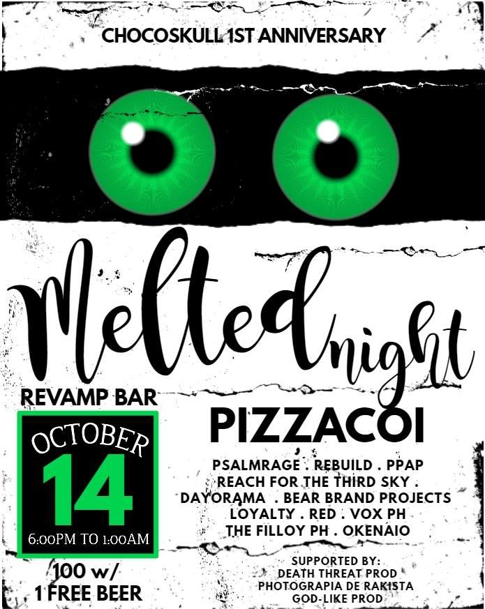 MELTED NIGHT AT REVAMP CARWASH CAFE