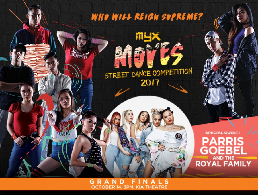 MYX Moves Street Dance Competition
