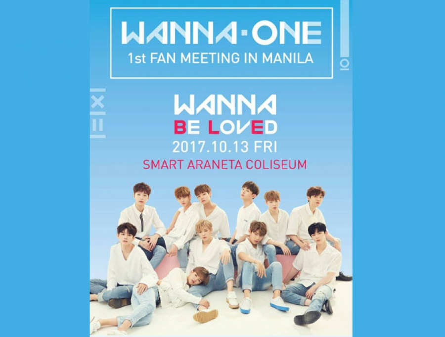 Wanna One 1st Fan Meeting in Manila