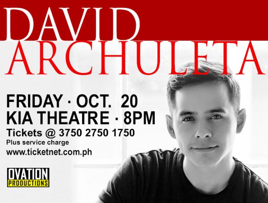 David Archuleta Live!