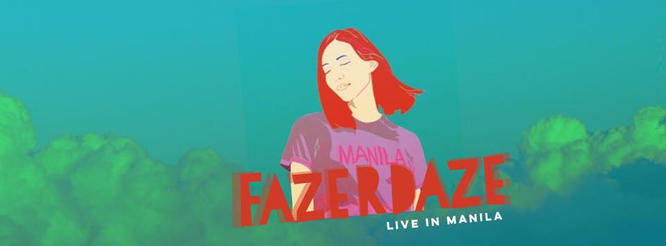 Fazerdaze Live in Manila at 20:20