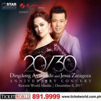 20/30 Dingdong Avanzado & Jessa Zaragoza  ANNIVERSARY CONCERT