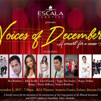 Voices of December: A Concert for a Cause
