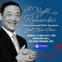 A Night To Remember : Love Letters And Other Souvenirs By Jose Mari Chan