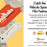 Instituto Cervantes' PELÍCULA Spanish Film Festival at  Ayala Malls Cinemas' Greenbelt 3  Now Playing until October 15