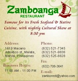 ZAMBOANGA RESTAURANT
