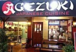 AGEZUKI JAPANESE CUISINE