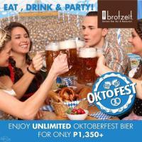 OktoFest at Brotzeit Manila