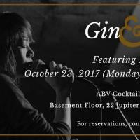 GIN & JAZZ NIGHT FEATURING PROJECT YAZZ AT ABV