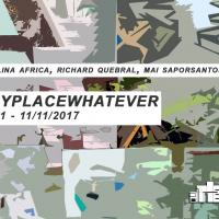 "Artery Art Space Exhibition Opening: ""ANYPLACE WHATEVER"" on October 21"