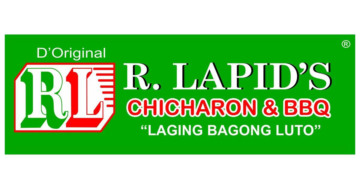 R. LAPIDS CHICHARON AND BARBECUE