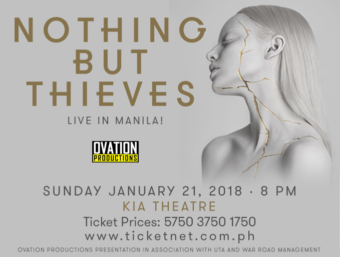 NOTHING BUT THIEVES Live in Manila