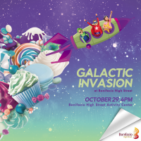 Experience BGC's Galactic Halloween Treats