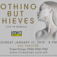 English Alternative Band NOTHING BUT THIEVES performs at the Kia Theatre on January 21!