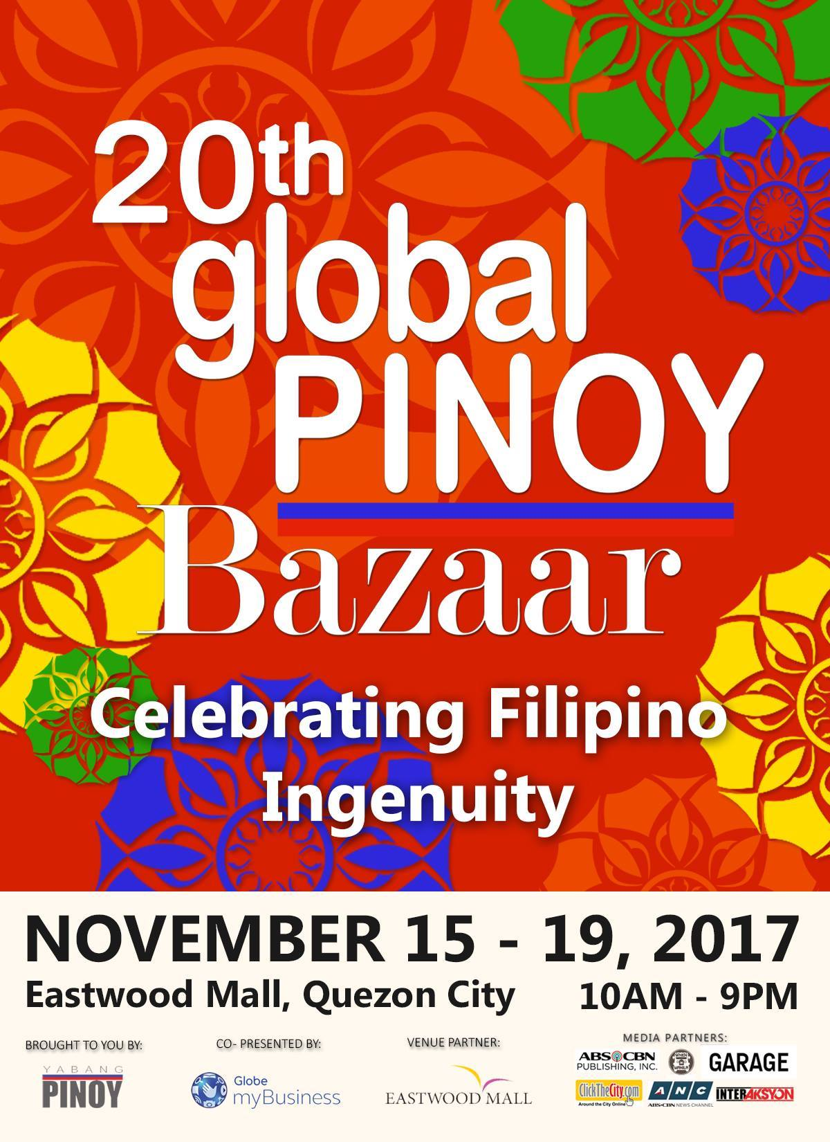 20th Global Pinoy Bazaar at Eastwood Mall