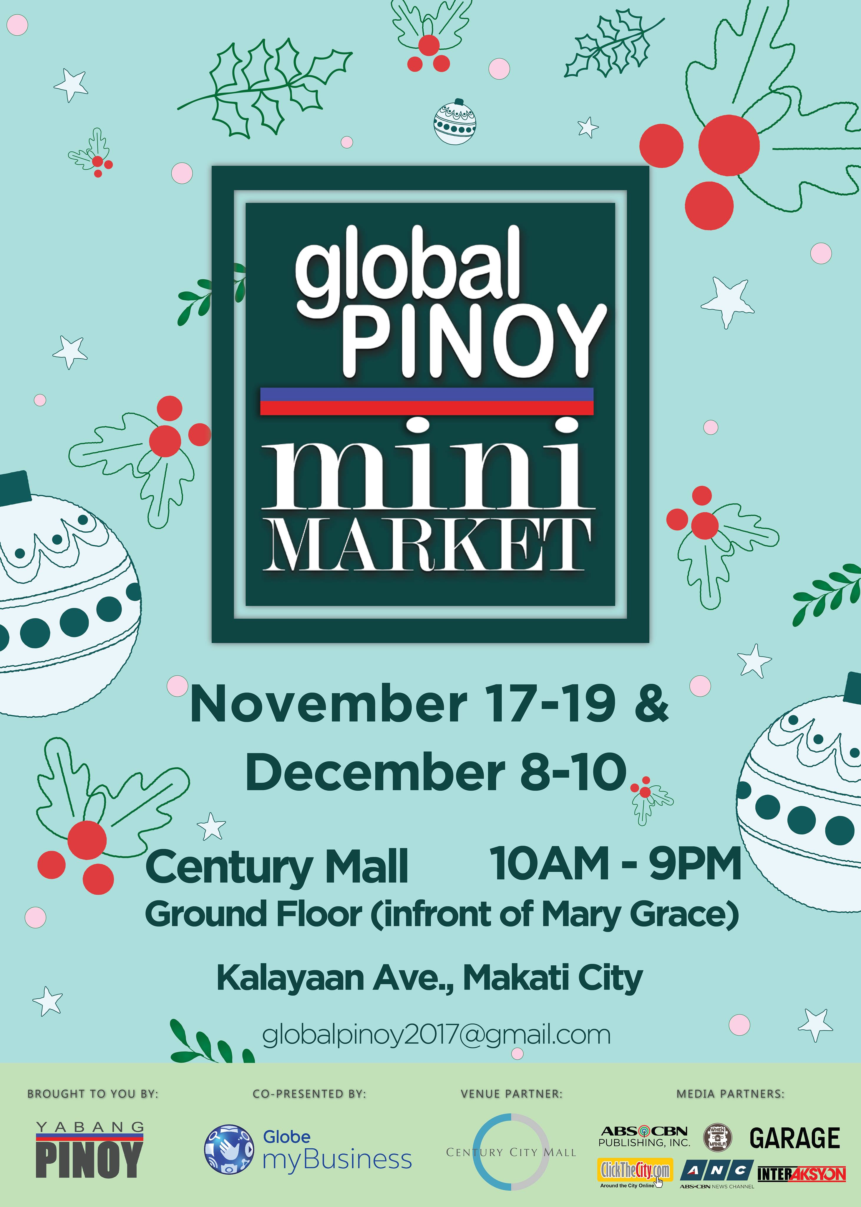 Global Pinoy Mini Market at Century Mall