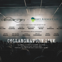 Collaboratory Live: A Night of Poetry, Music and Open Mic at Gift Avenue Cafe