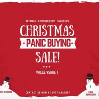 Panic Buying Christmas Sale at Valle Verde 1