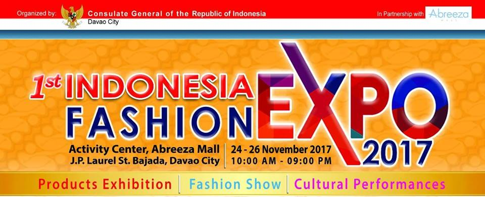 1st Indonesia Fashion Expo 2017