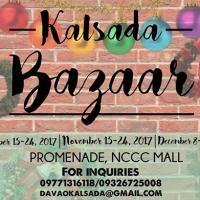 DAVAO Kalsada: Christmas Bazaar