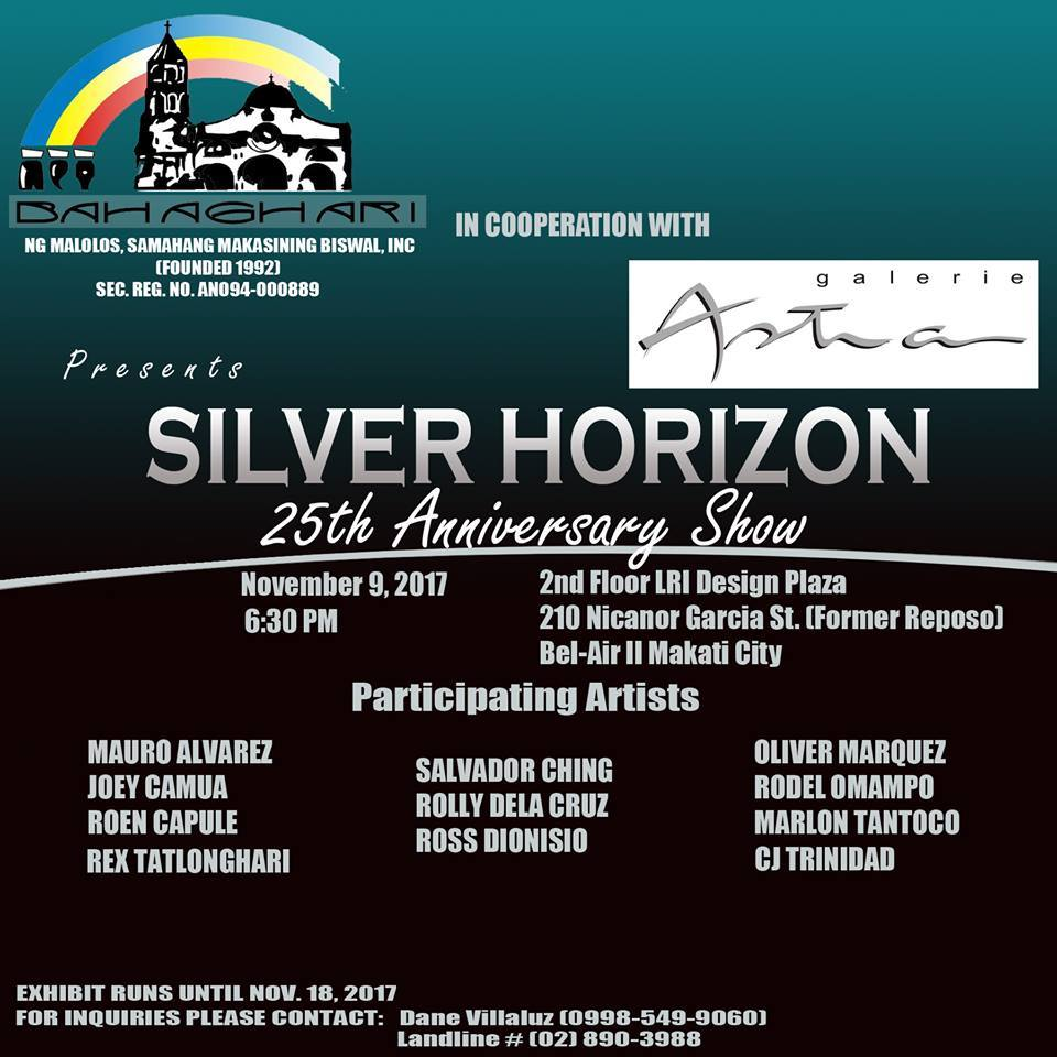 """Silver Horizon"", a 25th anniversary"