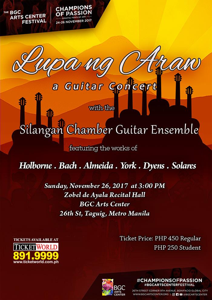 Lupa ng Araw (A Guitar Concert)