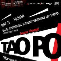 Juana Change  TAO PO! (Mga Monologo)
