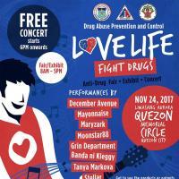 DDB presents Love Life Free Concert