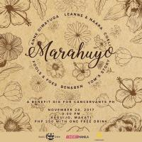 RACCOON: MARAHUYO AT SAGUIJO CAFE + BAR EVENTS
