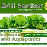 BAR Free Seminar