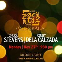 JAZZ MONDAY WITH CHUCK STEVENS & COLBY DELA CALZADA AT THE MINOKAUA