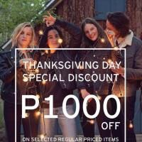SM Thanksgiving Discount