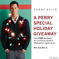 A Perry Special Holiday Giveaway