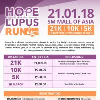 Hope for Lupus Run 2018
