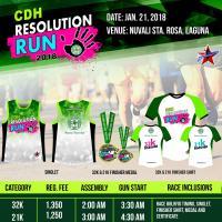 CDH Resolution Run 2018