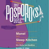Barcelona Band Manel, Manila's Sleep Kitchen Light Up Indie Concert Posporo(s)
