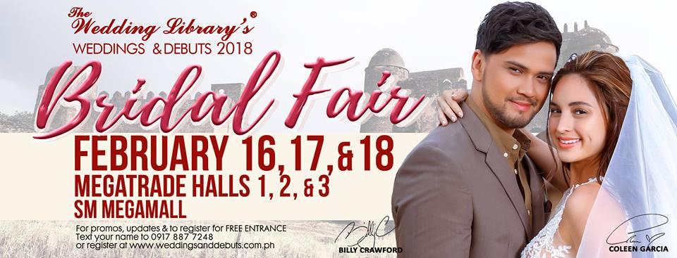 The Wedding Library's Bridal Fair 2018