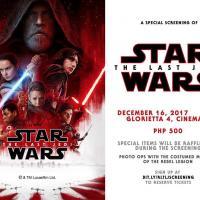 Star Wars: The Last Jedi Special Screening