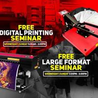 Free Digital Printing and Large Format Seminar