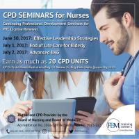 Three-Day Nursing Seminar Updates with 20 CPD Units