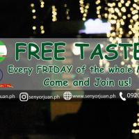 Free Taste Every Friday at SM Mall Of Asia