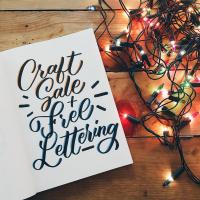 Craft Sale + Free Lettering
